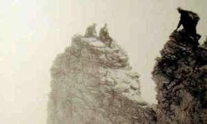 Ορειβάτες στο Στεφάνι το 1927!