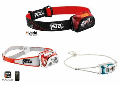 Φακοί κεφαλής PETZL: REACTIK+, ACTIK Core & BINDI