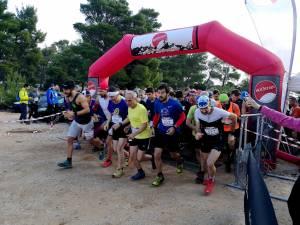 Platanopigi Trailrace στην Πάρνηθα στις 16 Δεκεμβρίου 2018