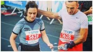 Κική Ισπαχανίδου, μια τυφλή μαραθωνοδρόμος στον Andros Trail Race 2018!
