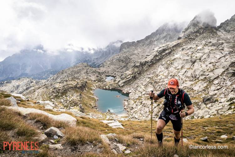 Dream ending of a Pyrenees Stage Run with sun, rain and emotion!