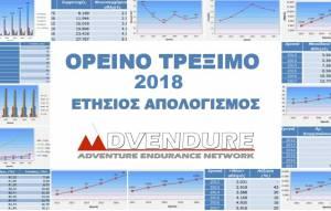 Ορεινό Τρέξιμο 2018, Ετήσιος Απολογισμός Advendure