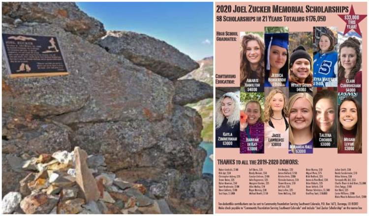 Hardrock 100 Endurance Run: 2020 Joel Zucker Memorial Scholarships!
