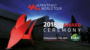 Ultra-Trail® World Tour 2018 ceremony in Barcelona!
