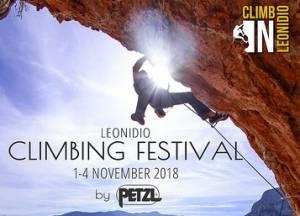 3ο Φεστιβάλ Αναρρίχησης Λεωνιδίου στις 1-4 Νοεμβρίου 2018!