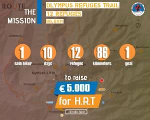 Ενώνοντας 12 καταφύγια του Ολύμπου: Ένα δύσκολο ορειβατικό εγχείρημα που ολοκληρώθηκε με επιτυχία