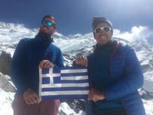 Δύο έλληνες στην 3η ψηλότερη κορφή του κόσμου Kangchenjunga (8.586μ)