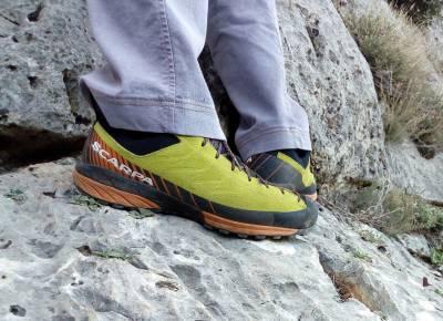 SCARPA Mescalito: Παπούτσια πρόσβασης για απαιτητικές πεζοπορίες και εύκολες αναρριχήσεις